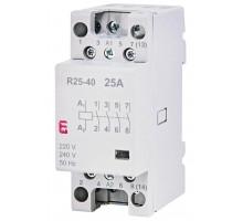 Модульный контактор ETI R 25-40A