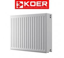 Радиатор стальной KOER 33×500×400 боковое подключение