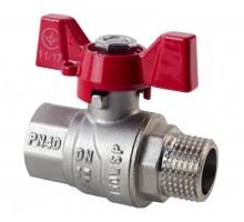 Кран шаровый SD FORTE 1/2 НВ PN40 (SF607W15)