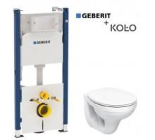 Комплект инсталляции GEBERIT Duofix + унитаз KOLO IDOL + сиденье