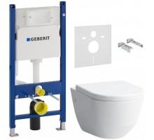 Комплект инсталляции GEBERIT Duofix + унитаз LAUFEN + сиденье