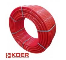 Труба для теплого пола KOER PE-RT EVOH 16x2 мм (RED)